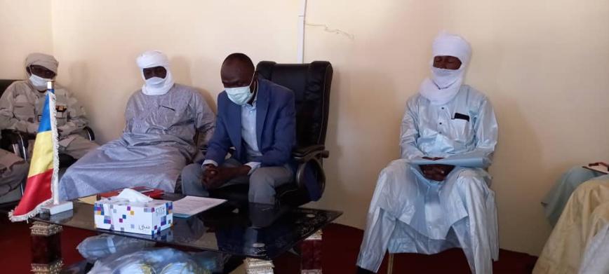 Tchad : un nouveau délégué à l'Économie installé au Sila