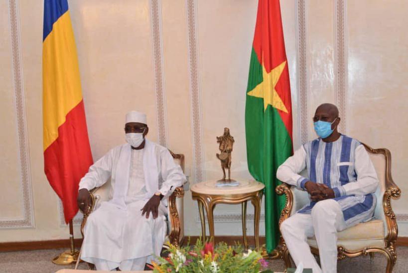 Le président tchadien au Burkina Faso pour l'investiture de Roch Marc C. Kaboré