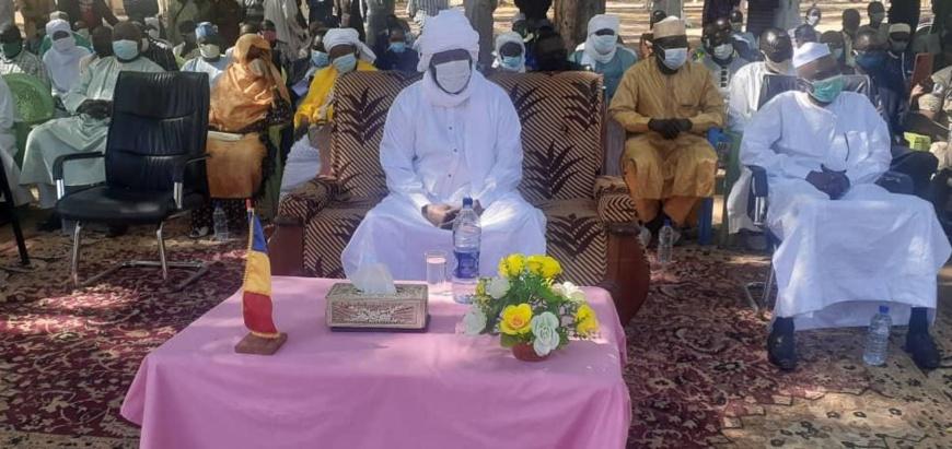 Tchad : Installation du nouveau préfet de département du Mayo-Boneye