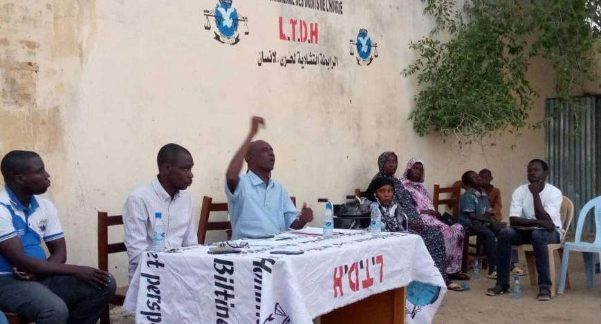 Tchad : La LTDH sensibilise à Abéché sur la loi portant protection des handicapés