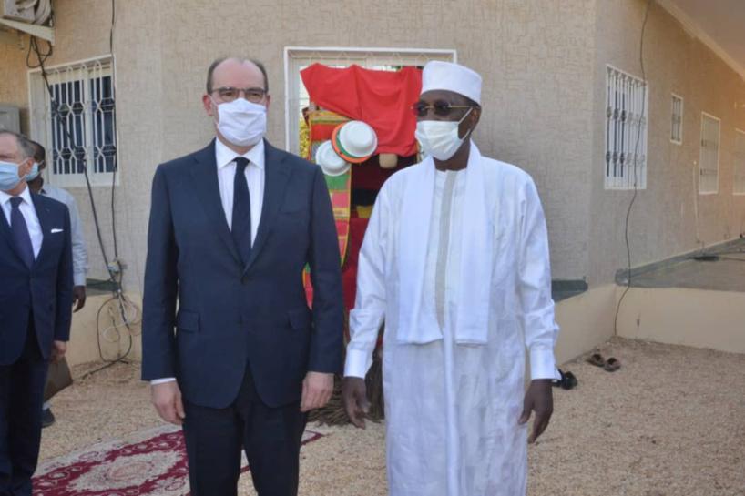 Tchad : le Premier ministre français reçu par Idriss Déby à Amdjarass