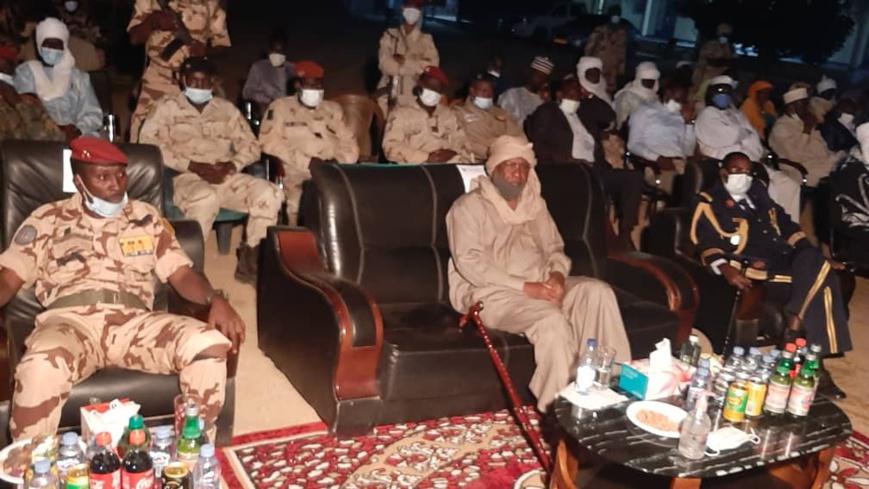 La force mixte Tchad-Soudan célèbre le nouvel an à Abéché