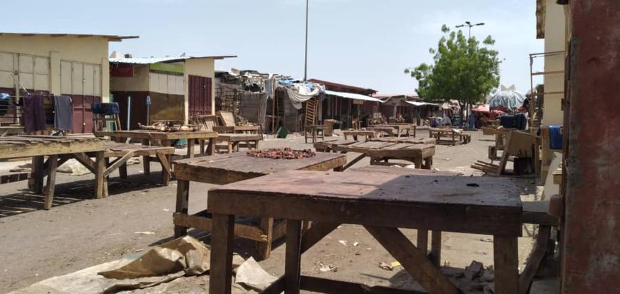 Le grand marché de N'Djamena. © Ben Kadabio/Alwihda Info