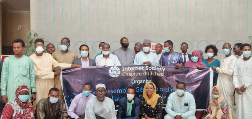 Tchad : les nouveaux membres d'Internet Society Chad installés