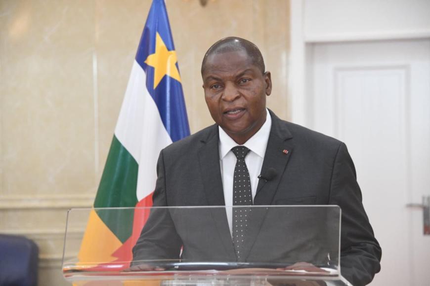 Centrafrique : Touadera réélu avec 53,92% des voix