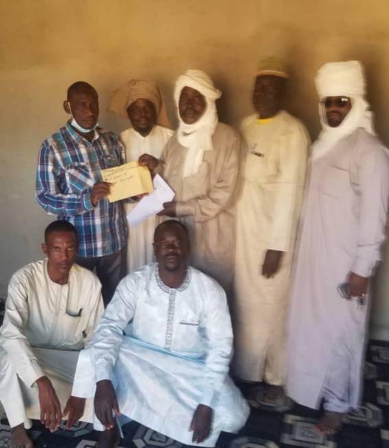 Tchad - Football : un appui financier au département d'Abougoudam pour le Fonds Covid