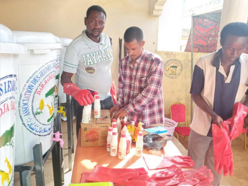 Tchad : à Am-Timan, l'association Dar-Badja Zakouma s'investit contre le coronavirus