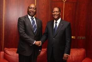 Côte d'Ivoire: Ouattara et Kaberuka discutent intégration régionale et Sahel