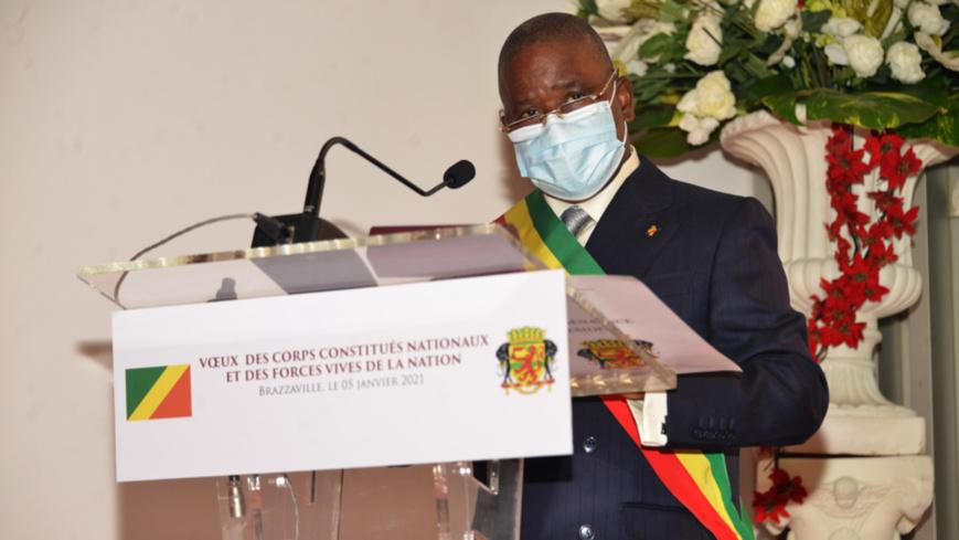 Pierre Ngollo, porte parole des corps constitués nationaux et des forces vives de la Nation.
