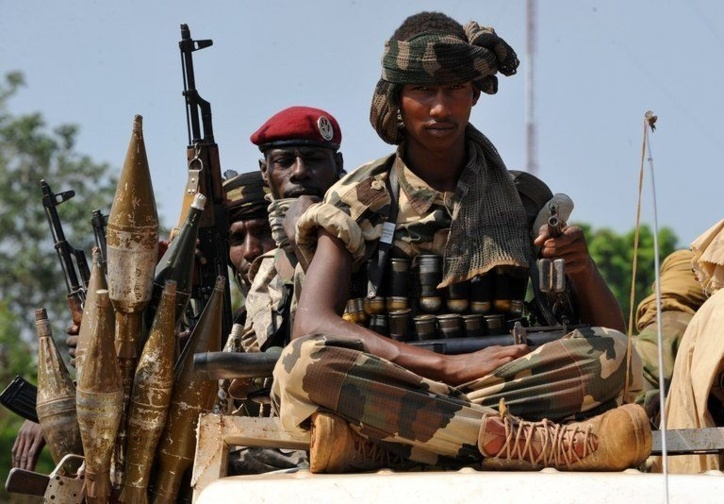 Mali : Les troupes Tchadiennes en première ligne dans le massif de l'Adrar des Ifoghas