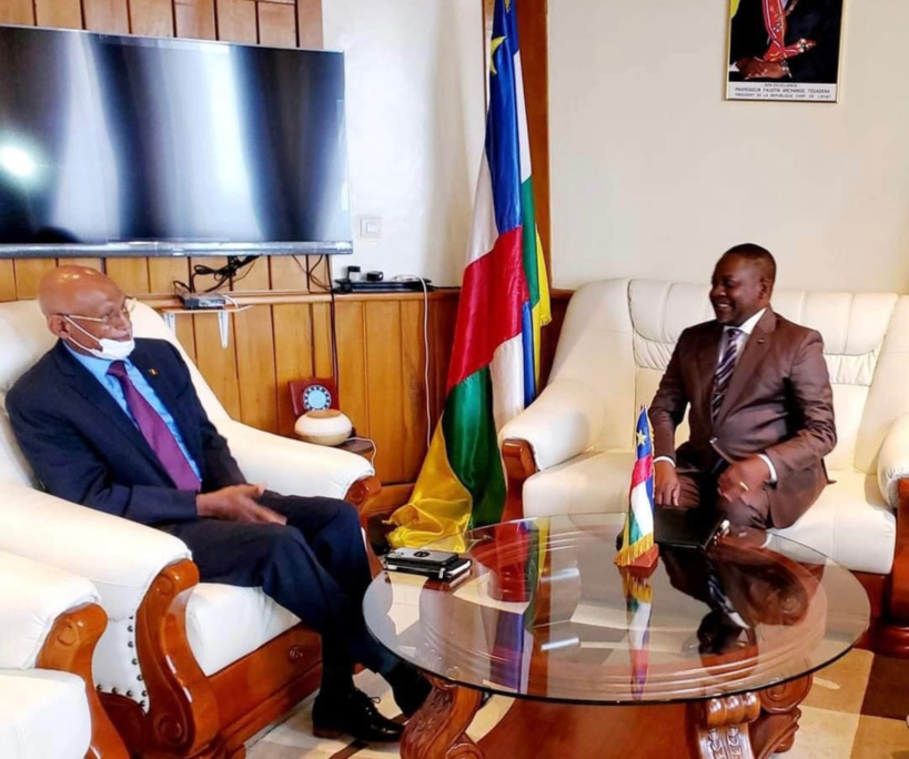 Centrafrique : l'ambassadeur du Tchad reçu par le Premier ministre