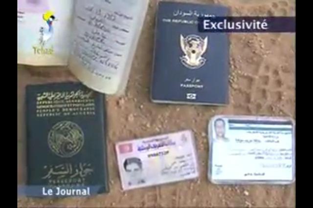 Mali : Des passeports ont été trouvés chez les djihadistes.