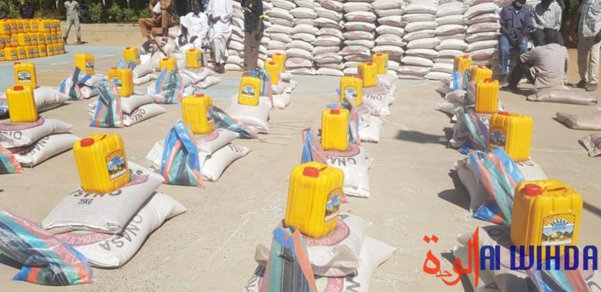 N'Djamena : au moins 6500 ménages visés pour la nouvelle distribution de vivres
