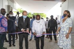 Ghana : l'ambassade de France à Accra inaugurée. © Hassan Bahsoun
