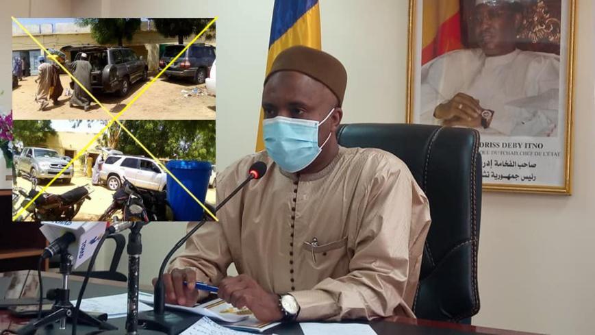 """Tchad : """"il est impossible que quelqu'un en V8 puisse venir charger des vivres destinés aux vulnérables"""""""