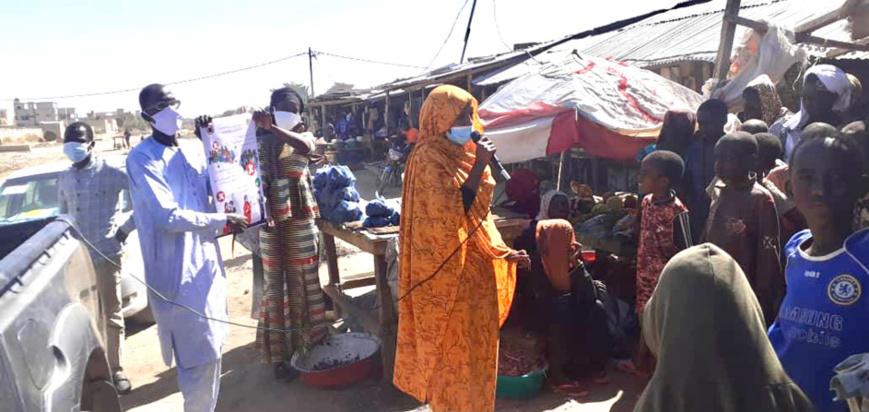 Tchad : l'OSDFT se mobilise à N'Djamena pour le respect des mesures barrières