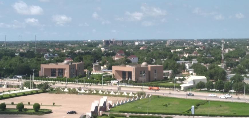 Vue de la ville de N'Djamena. ©Ben Kadabio/Alwihda Info