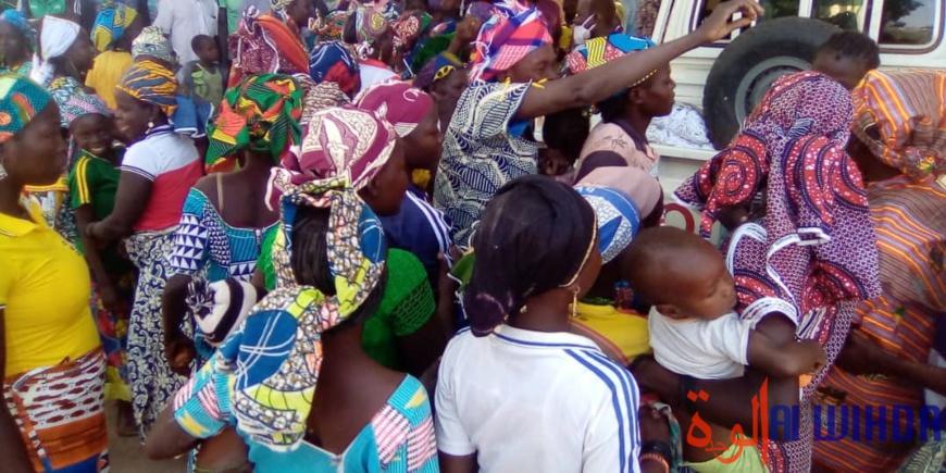 Tchad : les ex-otages de Lamé accueillis dans la joie par la population