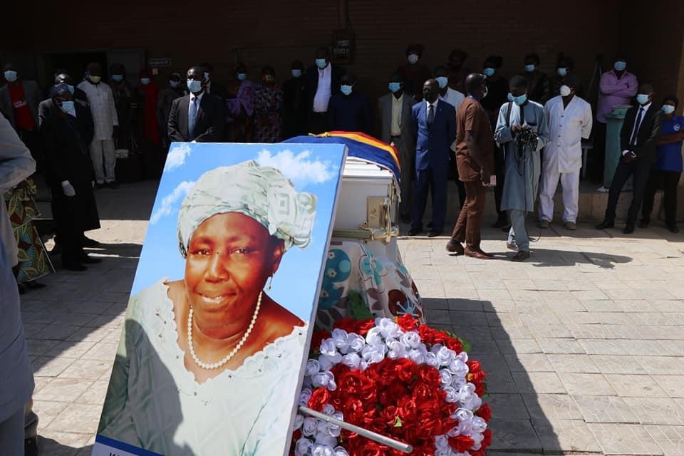 Tchad : Elisabeth Kade Ndilguem élevée à l'Ordre du commandeur national. ©DR