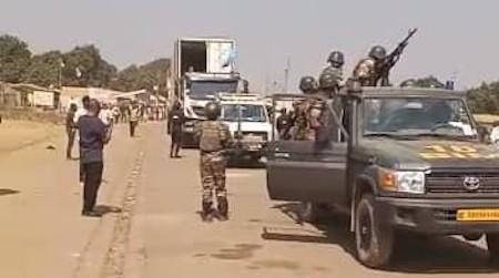Centrafrique : Des rebelles attaquent un convoi de marchandises, des chauffeurs tués