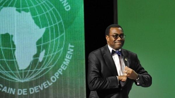 Le président de la Banque africaine de développement, Akinwumi A. Adesina. ©️ DR