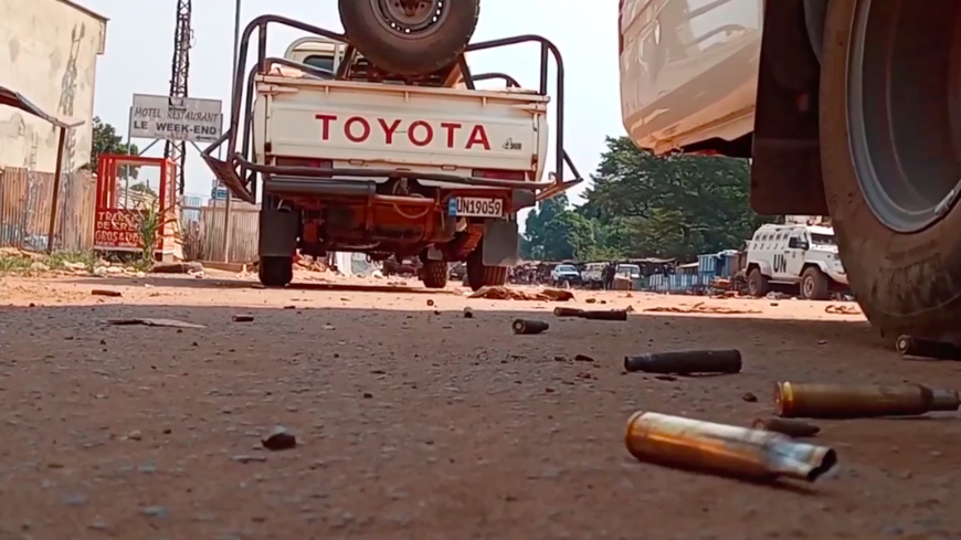 Ratissage des forces armées centrafricaines en janvier 2021 aux abords de Bangui. © Gouv/RCA