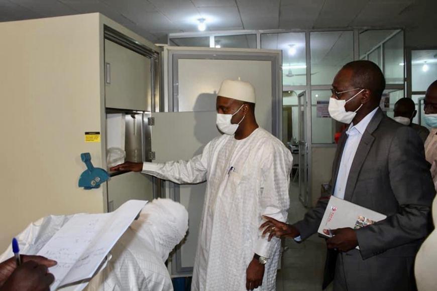 Le Tchad équipé des frigos à -80°C pour conserver les futurs vaccins anti-Covid