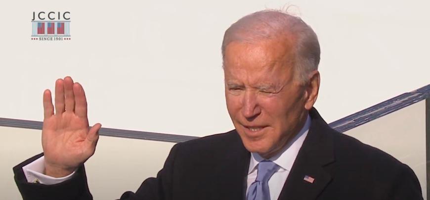 États-Unis : le nouveau président Joe Biden officiellement investi