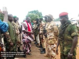 Centrafrique : 5 ministres issus de la Séléka séquestrés par leurs éléments à Sibut