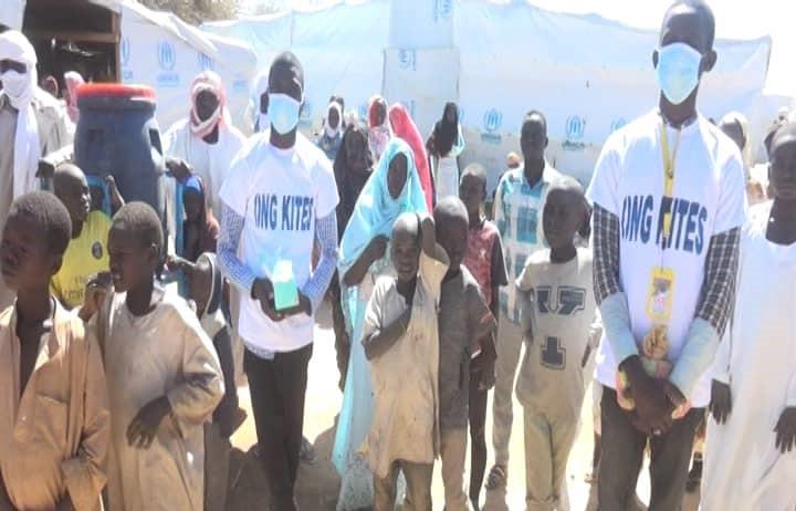 Tchad : L'ONG KITES poursuit sa campagne de lutte contre le Covid-19 au Ouaddaï