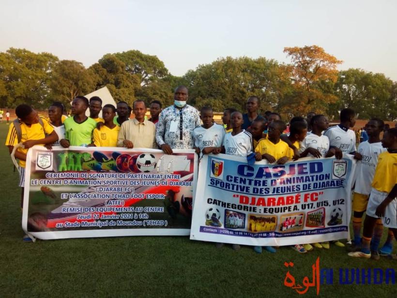 une initiative pour renforcer et détecter les jeunes talents de football à Moundou