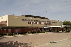 L'aéroport de N'Djamena. Crédits photos : Sources