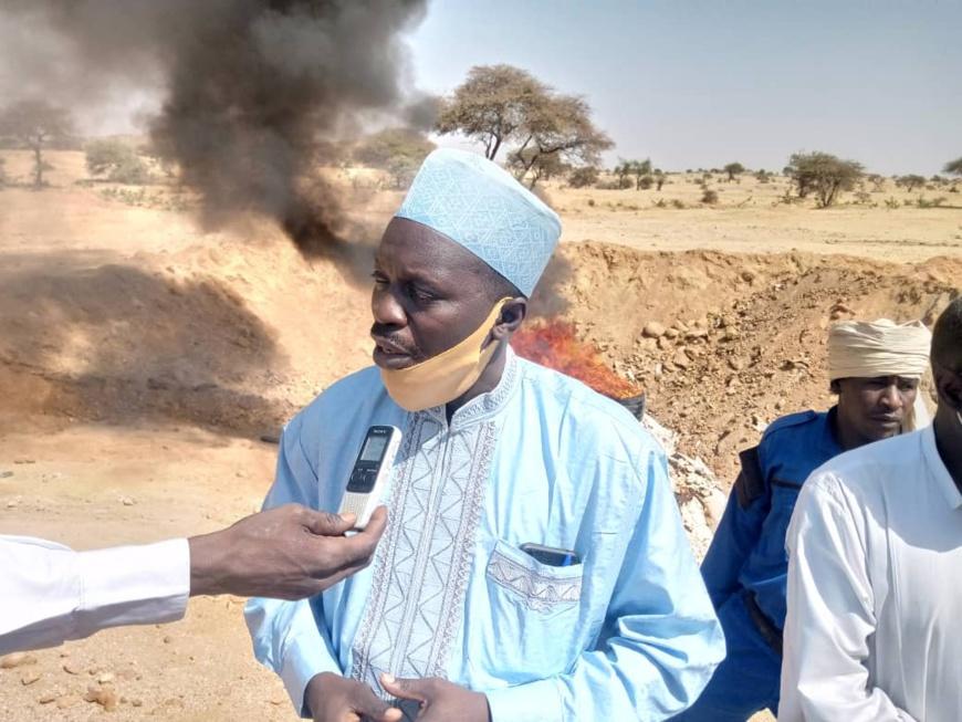 de la farine de qualité douteuse incinérée à Abéché
