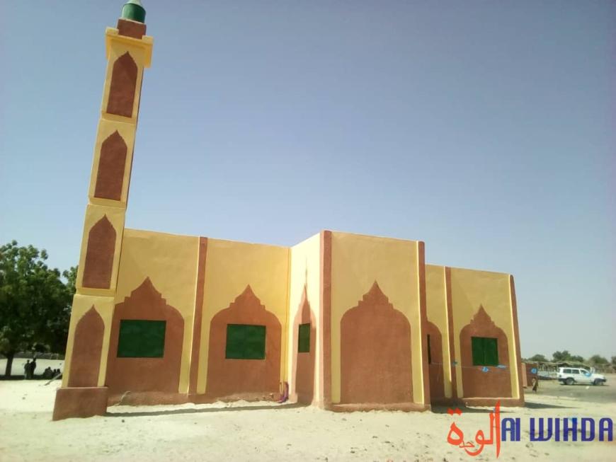 inauguration d'une mosquée à Baladja, dans la province du Lac