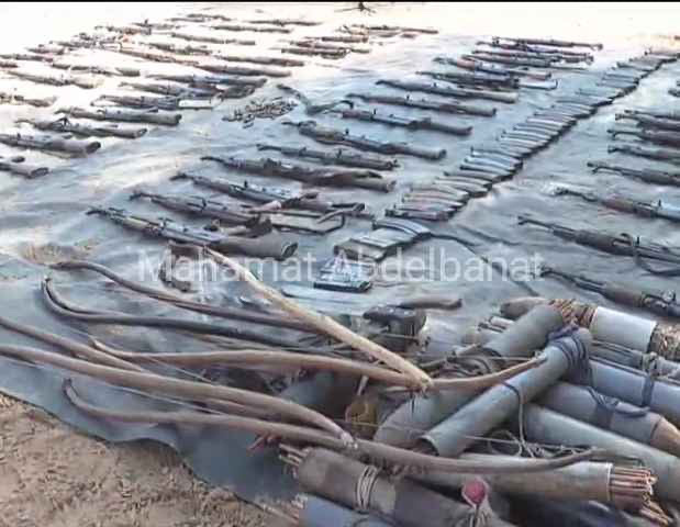 Tchad : importante saisie d'armes de guerre au Salamat