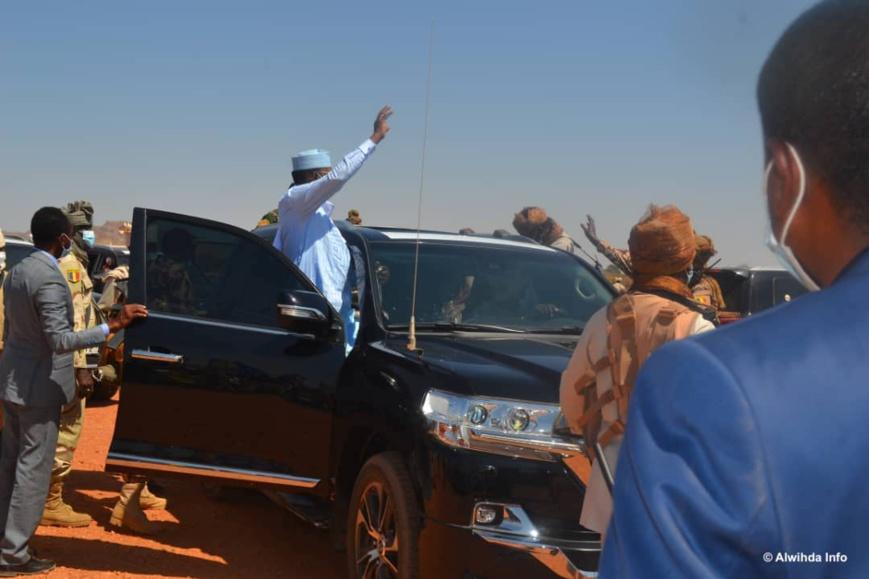 Tchad : le chef de l'État est à Goz Beida