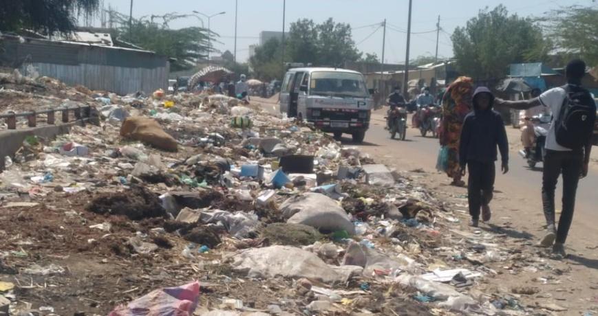Tchad : Les ordures jonchent le sol dans certains lieux de N'Djamena