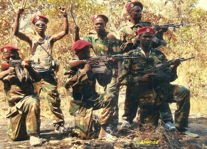 Des combattants du FDPC du général Abdoulaye Miskine dans le Maki. Centrafrique. Crédits photos : Alwihda