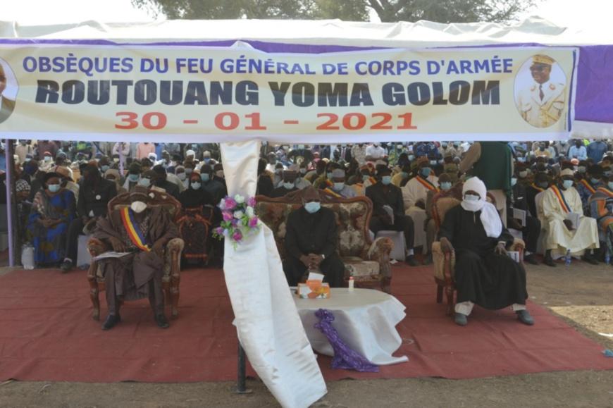 Tchad : le général Routouang Yoma Golom inhumé au Mayo-Kebbi Est