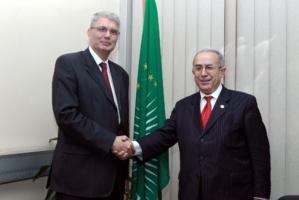 Visite d'adieu de l'Ambassadeur de Tunisie à la Commission de l'Union Africaine