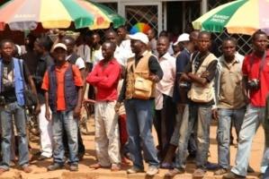 Une manifestation à Bangui en décembre 2012 contre l'avancée des rebelles de la Séléka. Crédits photos : Sources