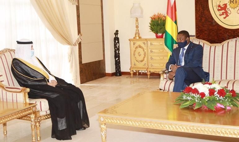 Togo : le président reçoit les lettres de créance du nouvel ambassadeur saoudien. ©DR
