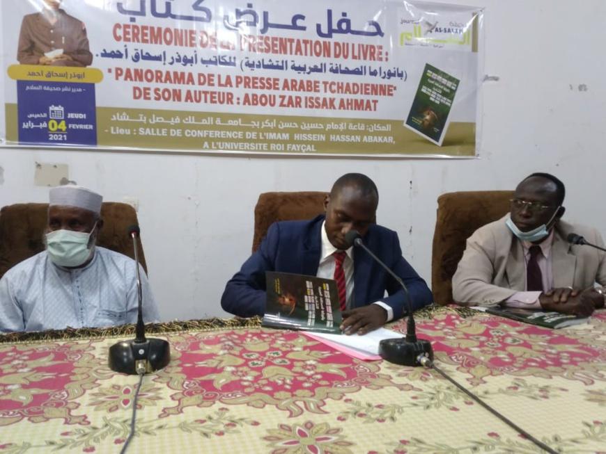 Tchad : Dédicace du livre « Panorama de la presse arabe tchadienne »