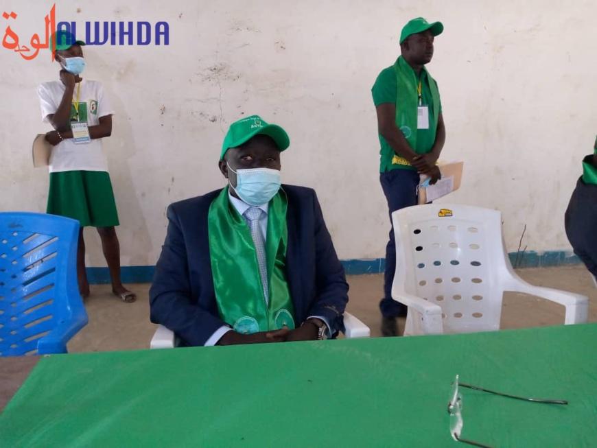 """Alladoum Djarma Balthazar : """"le peuple tchadien portera son choix sur notre modeste personne"""""""