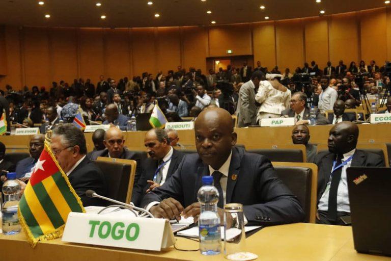 Le ministre des Affaires étrangères, de l'Intégration africaine et des Togolais de l'extérieur, le Pr Robert Dussey.