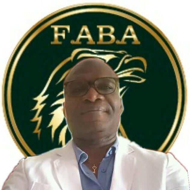 Éric Richard Ella Bekale, président de la FABA et vice-président de la fédération internationale de la boxe arabe (FIBA).