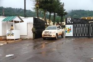L'entrée du Palais Présidentiel. Centrafrique. Crédits photos : Sources