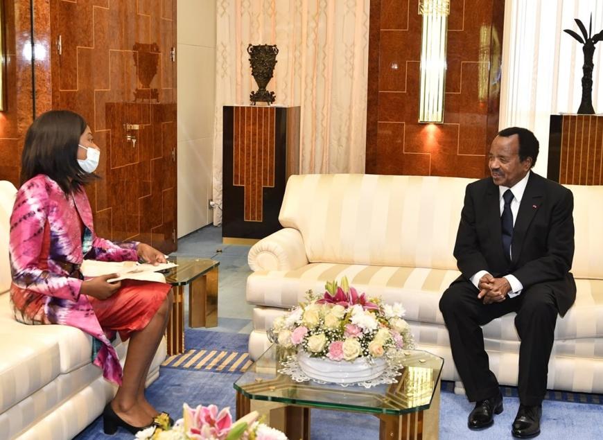Cameroun-RCA : Une émissaire du président Touedera reçue par Paul Biya