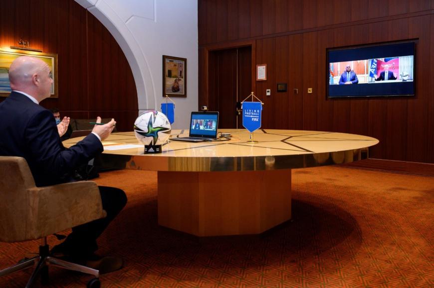 Union africaine-FIFA : Renforcement de la collaboration axée sur les résultats positifs