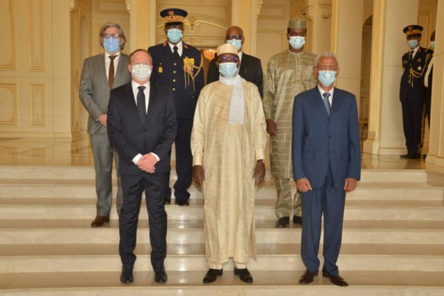 Tchad : le nouvel ambassadeur de l'UE présente ses lettres de créance